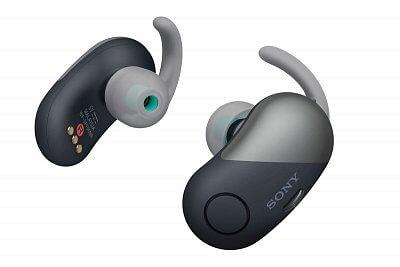 Samostatná Sportovní Bluetooth sluchátka Sony WFSP700N černá