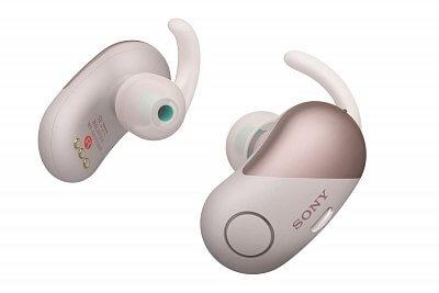 Samostatná Sportovní Bluetooth sluchátka Sony WFSP700N růžová