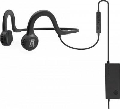 Sportovní sluchátka před uši AfterShokz Sportz Titanium Mic černá