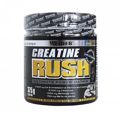 Kreatin Weider Creatine Rush, 375g