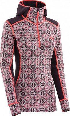 Dámské hřejivé vlněné triko s kapucí Kari Traa Rose Hood 5e7f500e86