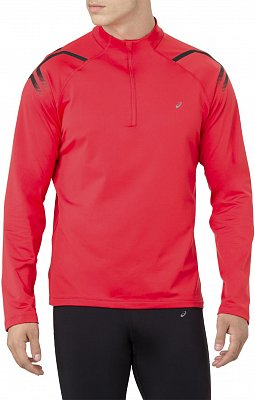 Pánské běžecké tričko Asics Icon Winter LS 1/2 Zip Top