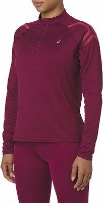 Dámske bežecké tričko Asics Icon Winter LS 1/2 Zip Top