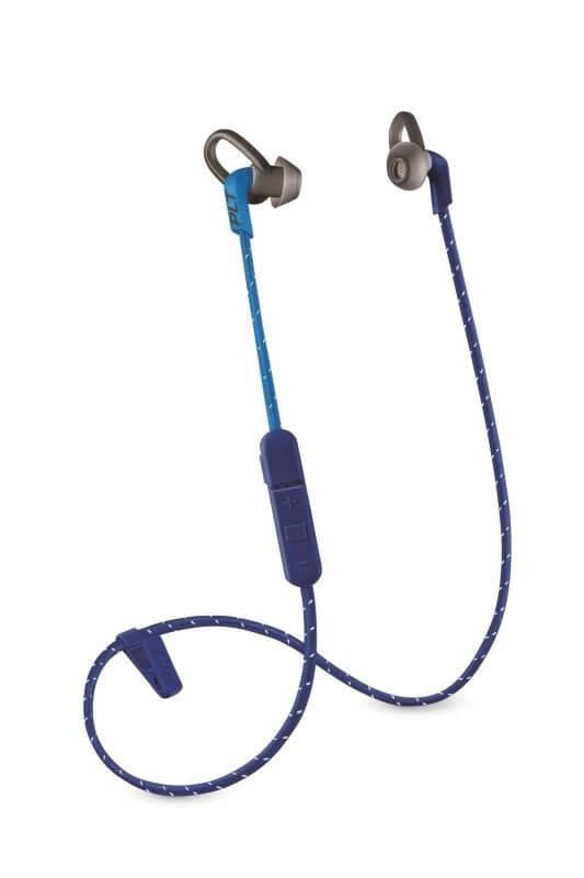 Kopfhörer Plantronics Backbeat FIT 300 stereo headset, bluetooth v3.0, modrý