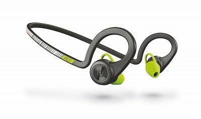 Sportovní sluchátka Plantronics Backbeat FIT Stereo Headset, bluetooth v3.0, IP57, černý