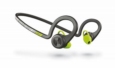 Športové slúchadlá Plantronics Backbeat FIT Stereo Headset, bluetooth v3.0, IP57, čierny