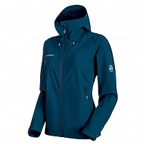 Mammut Runbold Trail SO Hooded Jacket Women (1011-23181) 50011 jay