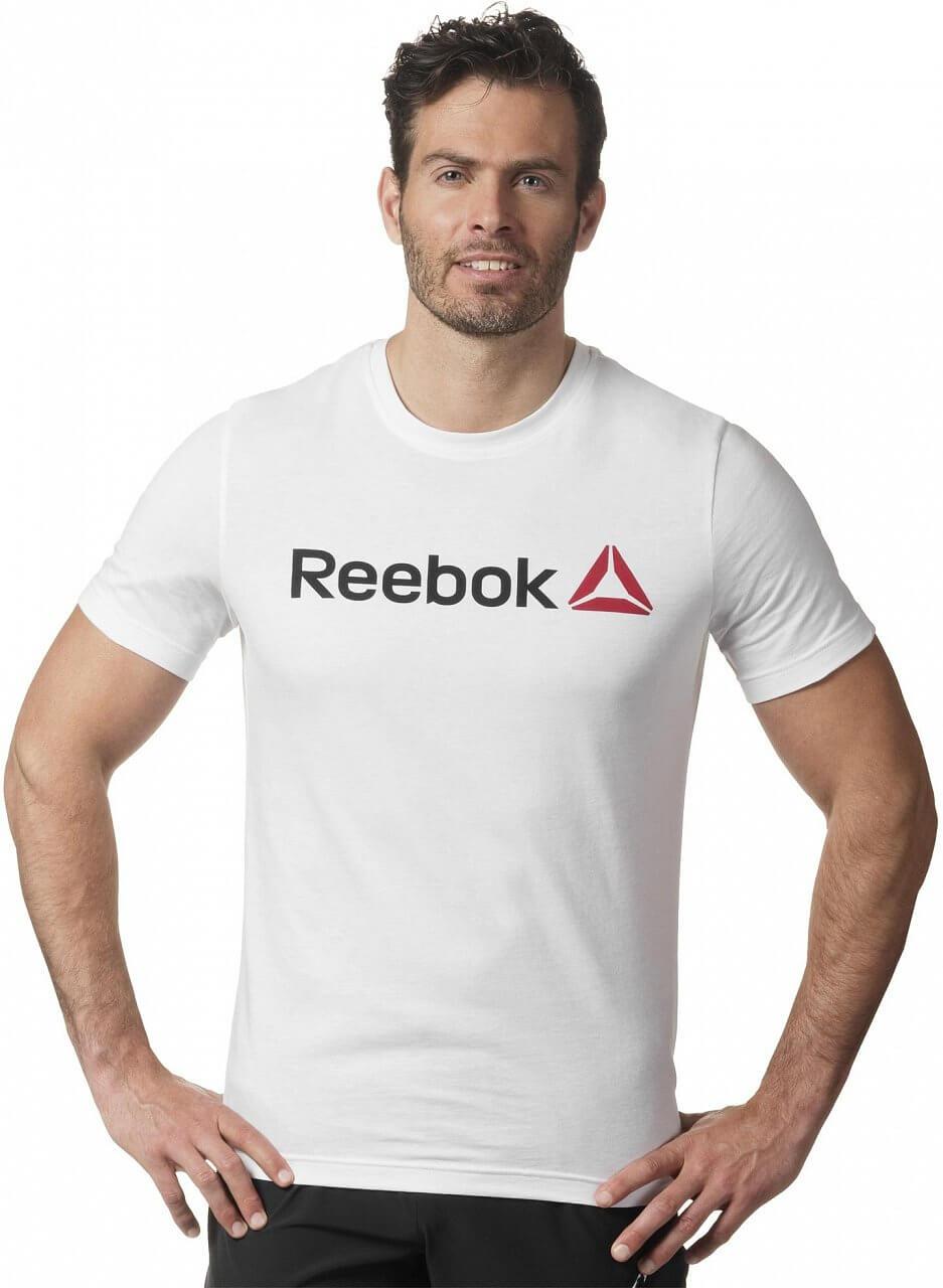 7cbb296e7b8b Pánske športové tričko Reebok QQR Linear Read
