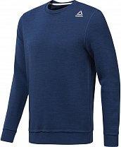 Reebok Training Essentials Marble Melange Crew Sweatshirt