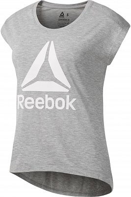 Dámské sportovní tričko Reebok Workout Ready Supremium 2.0 Tee Big Logo 8be720f2e1