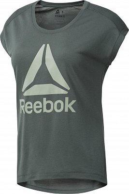 Dámske športové tričko Reebok Workout Ready Supremium 2.0 Tee Big Logo cf48ecb5a3
