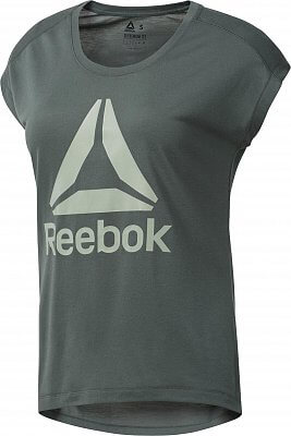 Dámské sportovní tričko Reebok Workout Ready Supremium 2.0 Tee Big Logo 5166b0b438