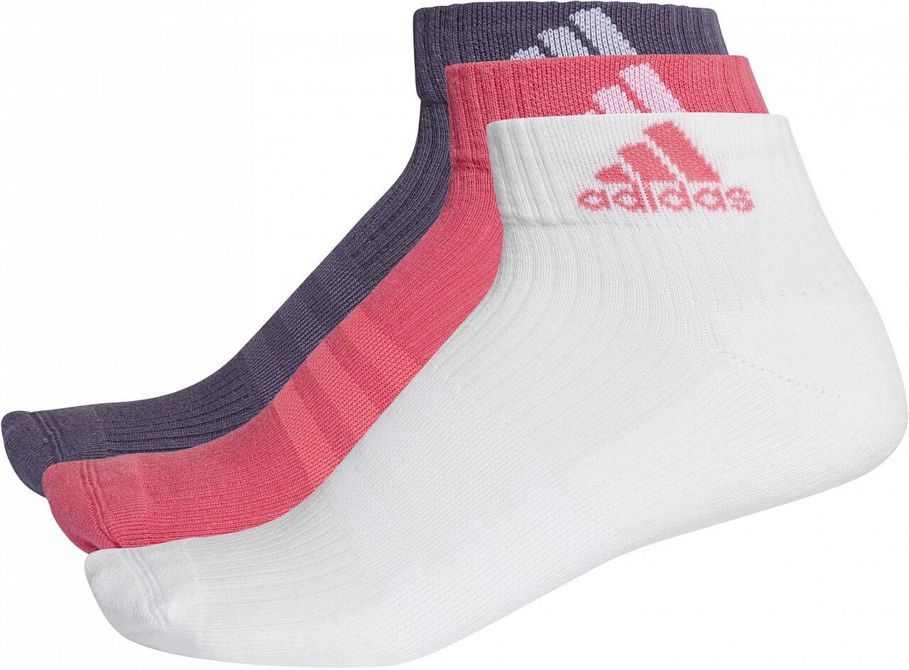 Sportovní ponožky adidas 3S Performance Ankle Half Cushioned 3pp