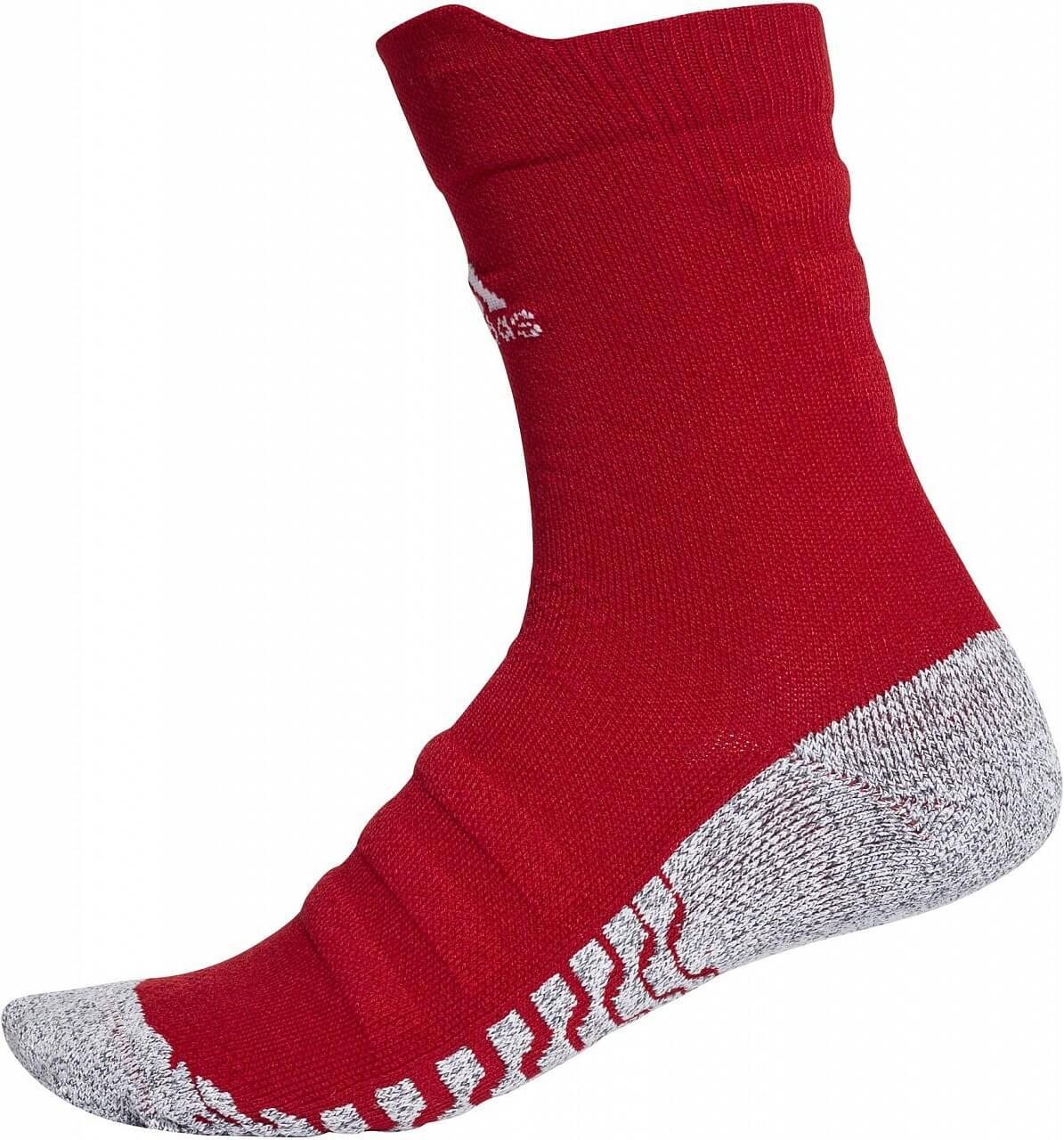 Sportovní ponožky adidas Alphaskin Traxion Crew Lightweight Cushioning