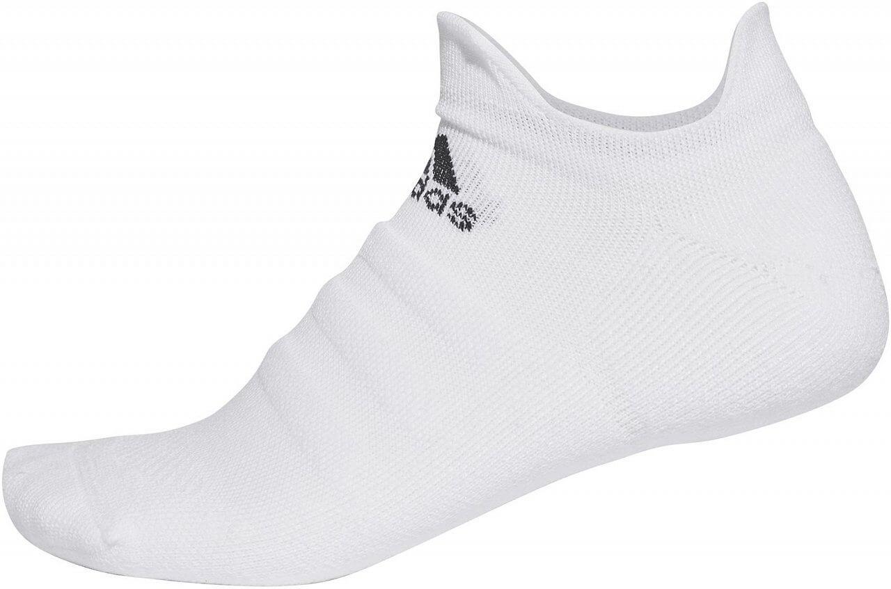 Sportovní ponožky adidas Alphaskin No-Show Lightweight Cushioning Socks