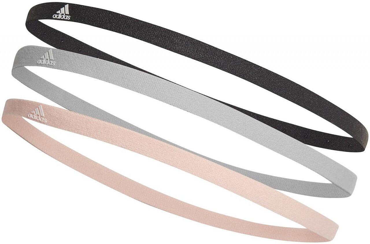 Čelenka adidas 3 Pair Pack Hairband