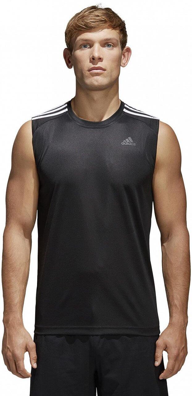 Pánské sportovní tílko adidas Design 2 Move Sleeveless 3S