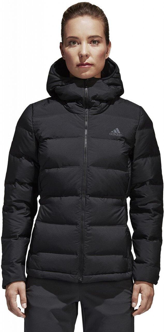 Dámská sportovní bunda adidas Women Helionic Down Hooded Jacket