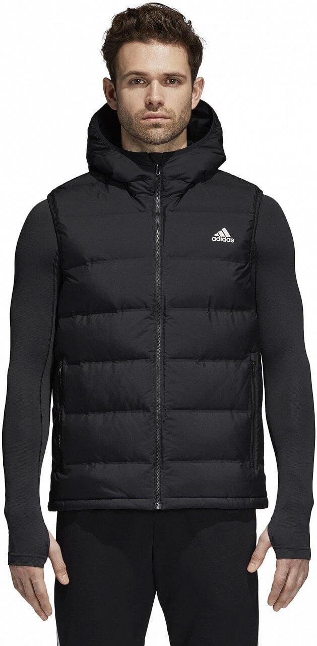 Pánská sportovní bunda adidas Helionic Down Vest