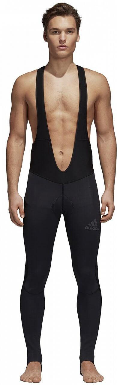 Pánské sportovní kalhoty adidas Climawarm Padded Winter Bib Tight