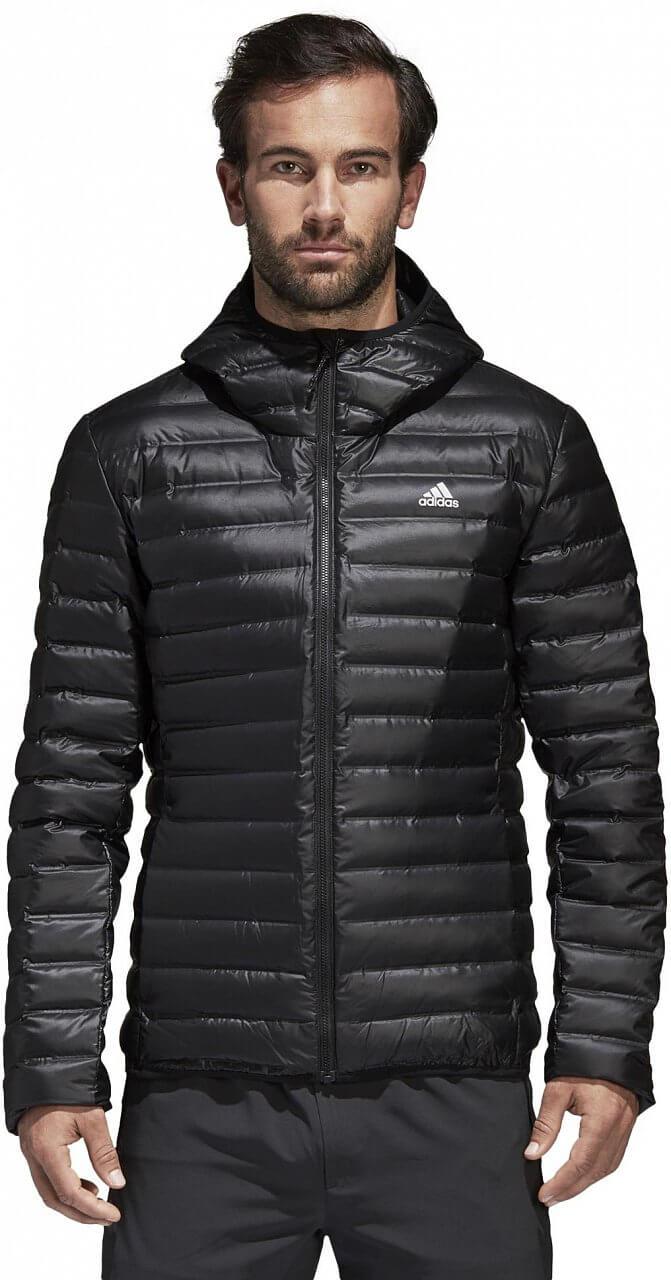 a32744c9f adidas Varilite Down Hooded Jacket. Pánska športová bunda