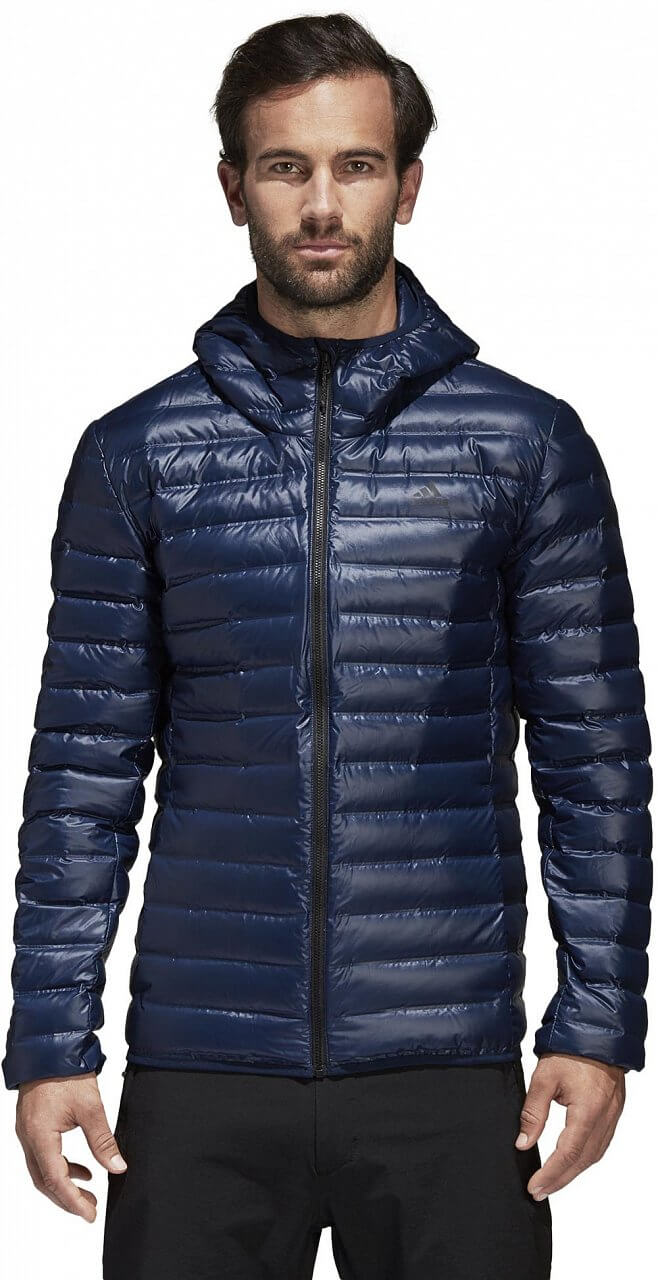 Pánská sportovní bunda adidas Varilite Down Hooded Jacket