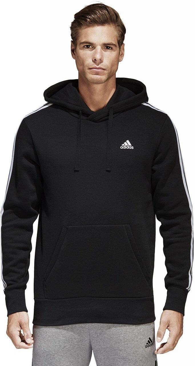 Pánská sportovní mikina adidas Essentials 3S Pullover Fleece
