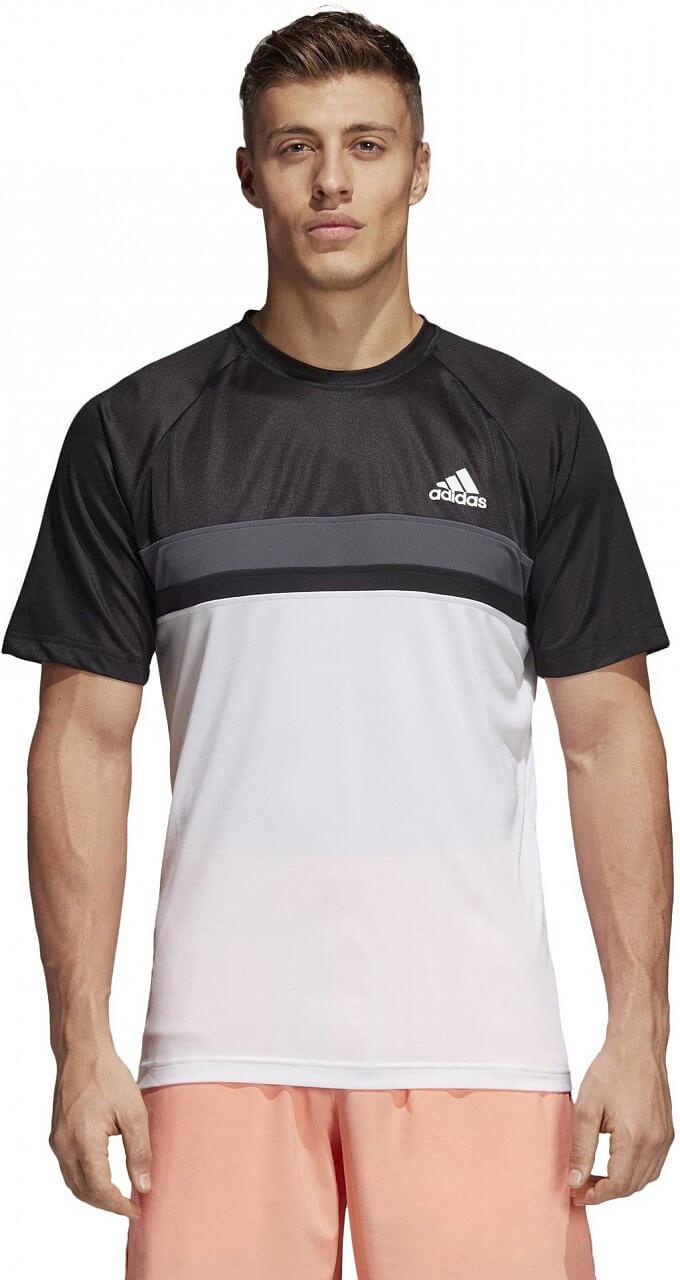 Pánské sportovní tričko adidas Club Color Block Tee