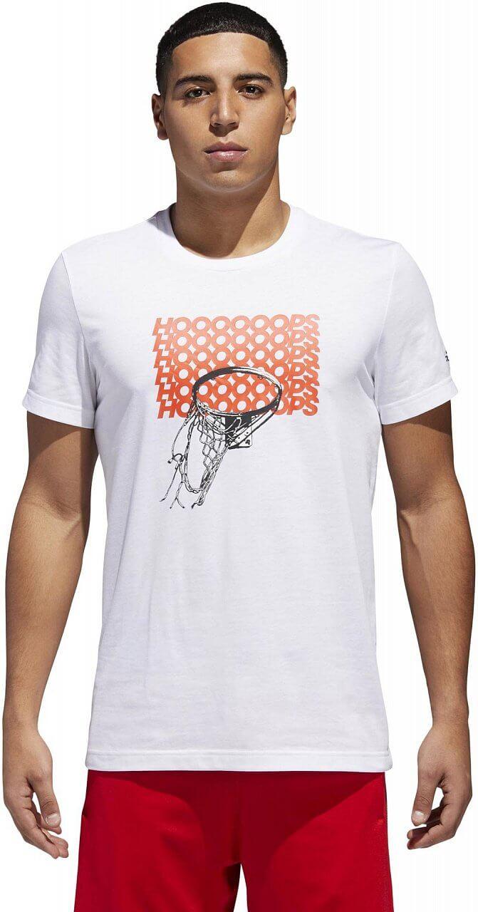 Pánské sportovní tričko adidas Adi Hoop Tee
