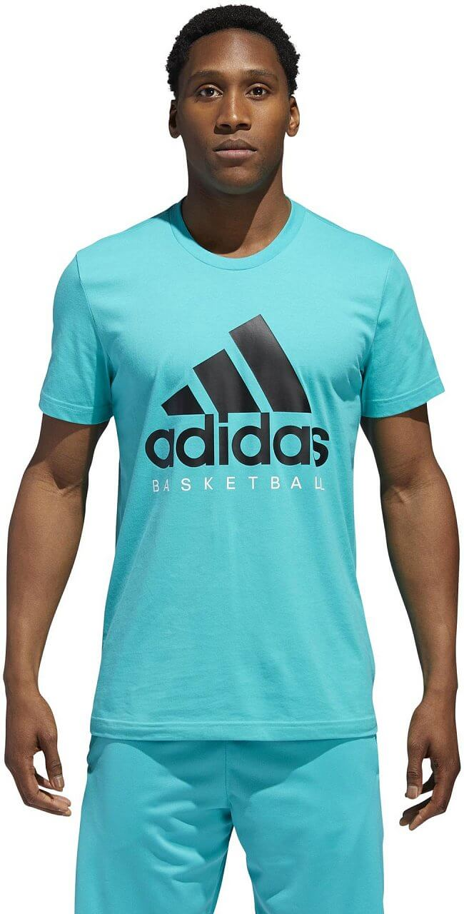 Pánské sportovní tričko adidas Basketball Graphic Tee