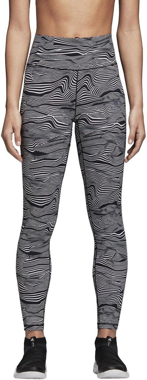 Dámské sportovní kalhoty adidas Ultimate High Rise Alive Print 7/8 Tight