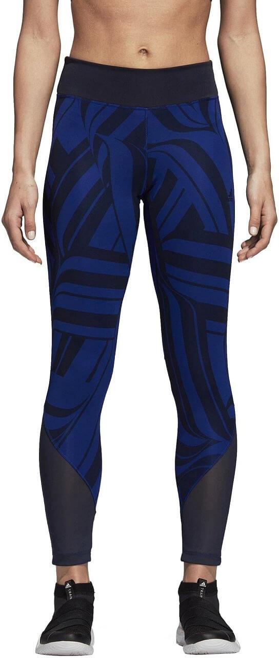 Dámské sportovní kalhoty adidas Design to Move High Rise Print 7/8 Tight 2