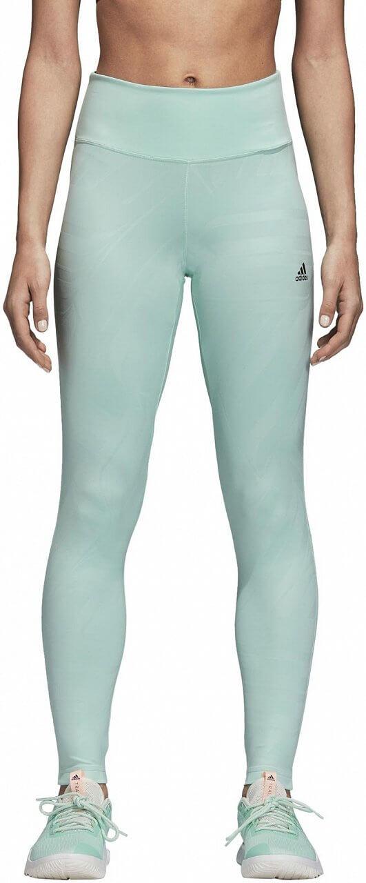 Dámské sportovní kalhoty adidas Design to Move High Rise Print Long Tight
