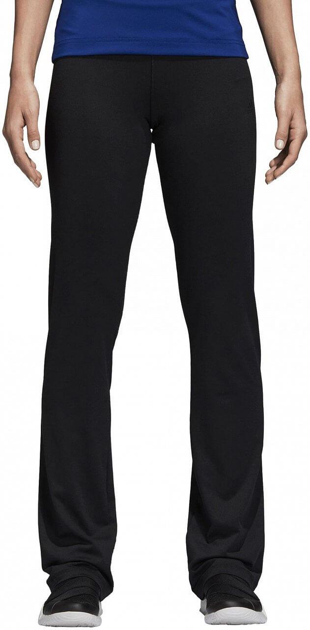 Dámské sportovní kalhoty adidas Design to Move Regular Rise Brushed Long Pant