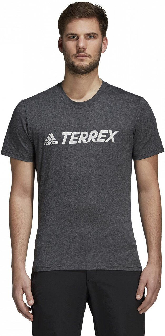 Pánské sportovní tričko adidas Logo Bar Tee