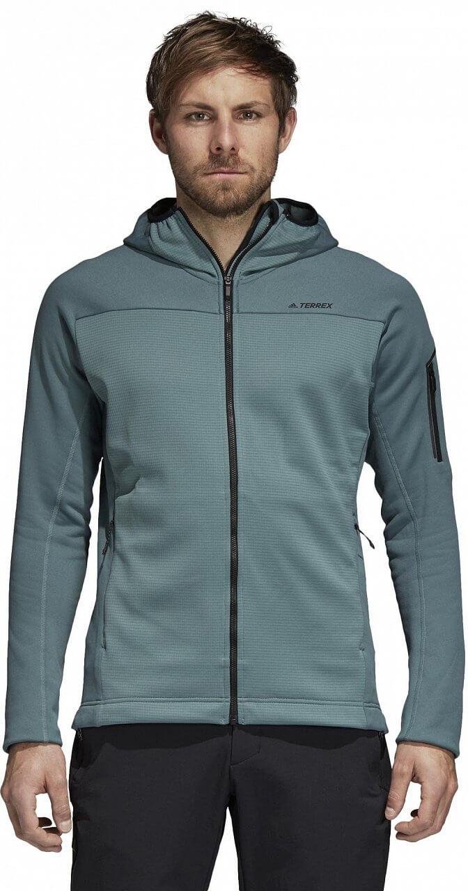 Pánská sportovní mikina adidas Stockhorn Hooded Fleece Jacket