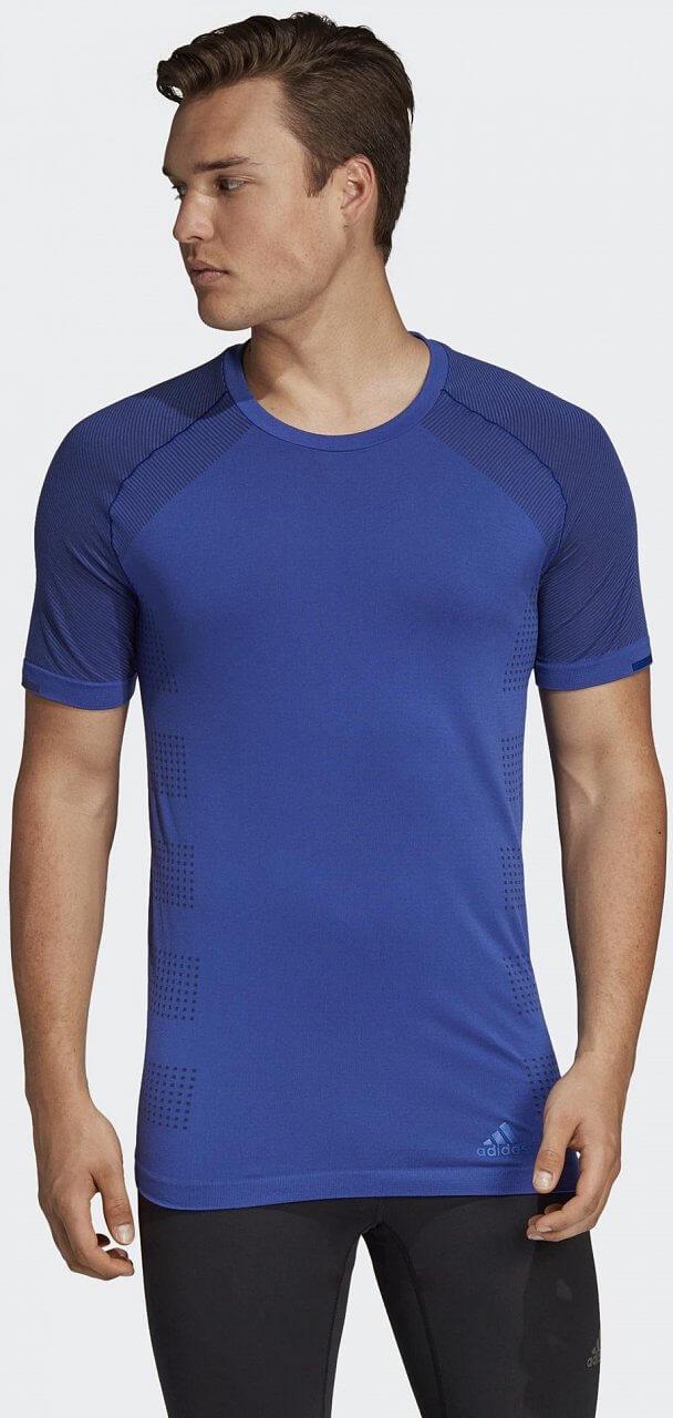 Pánské běžecké tričko adidas Ultra Primeknit Polyester Light Tee M