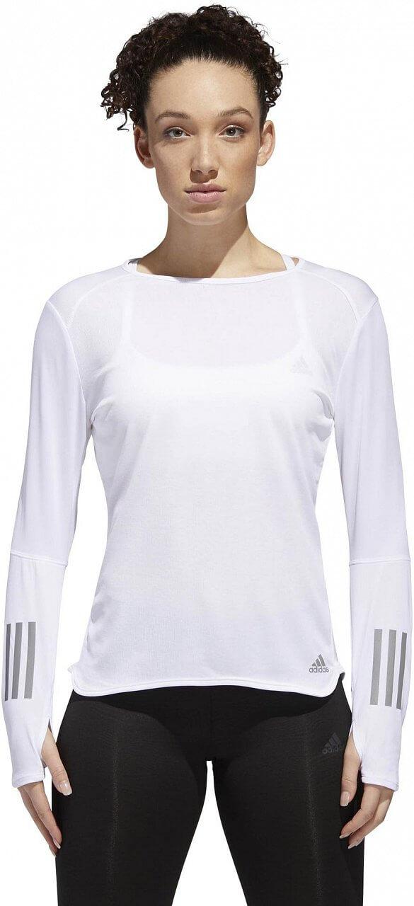 Dámské běžecké tričko adidas Response Long Sleeve Women