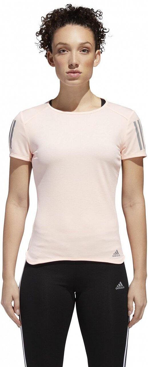 Dámské běžecké tričko adidas Response Short Sleeve Tee Women