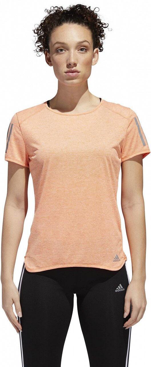 Dámské běžecké tričko adidas Response Cooler Short Sleeve Tee Women