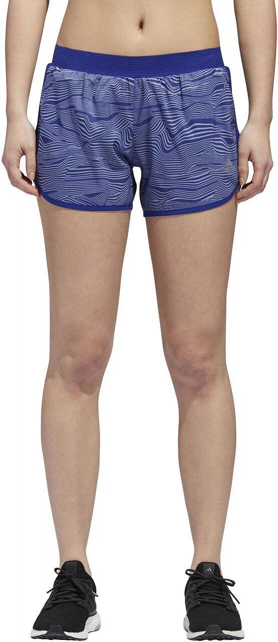 Dámské běžecké kraťasy adidas M10 Liquid Stripes Short Women