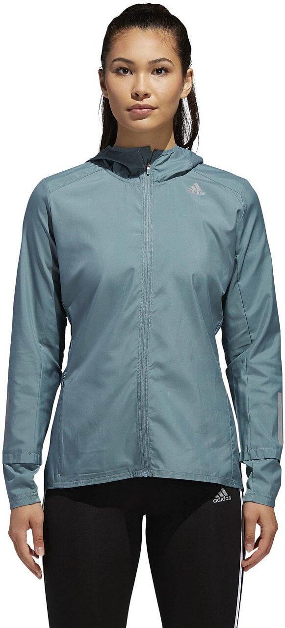 Dámská běžecká bunda adidas Response Hooded Wind Jacket Women
