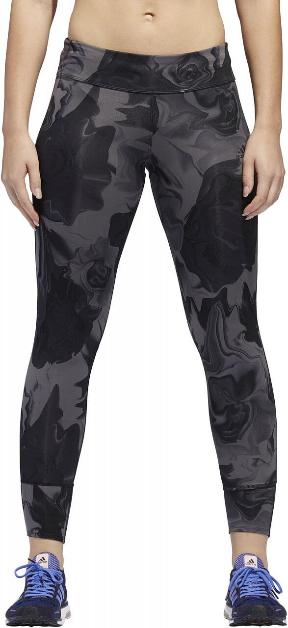Dámské běžecké kalhoty adidas Response Sound Flower 7/8 Tight Women