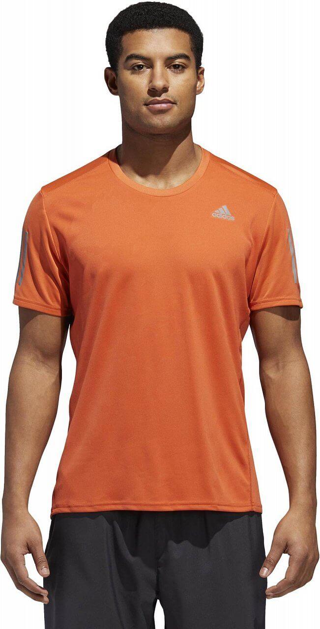Pánské běžecké tričko adidas Response Short Sleeve Tee Men