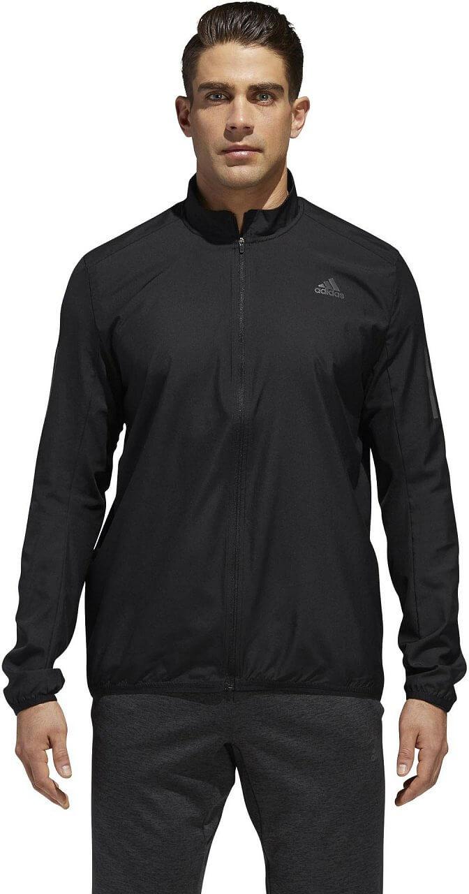 Pánská běžecká bunda adidas Response Wind Jacket Men