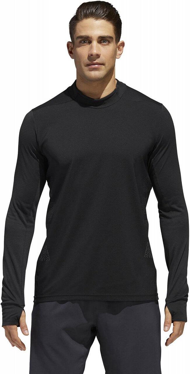 Pánské běžecké tričko adidas Supernova Long Sleeve Dark Knight Tee Men