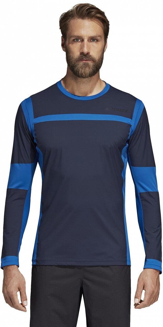 Pánské sportovní tričko adidas Agravic Hyb Long Sleeve