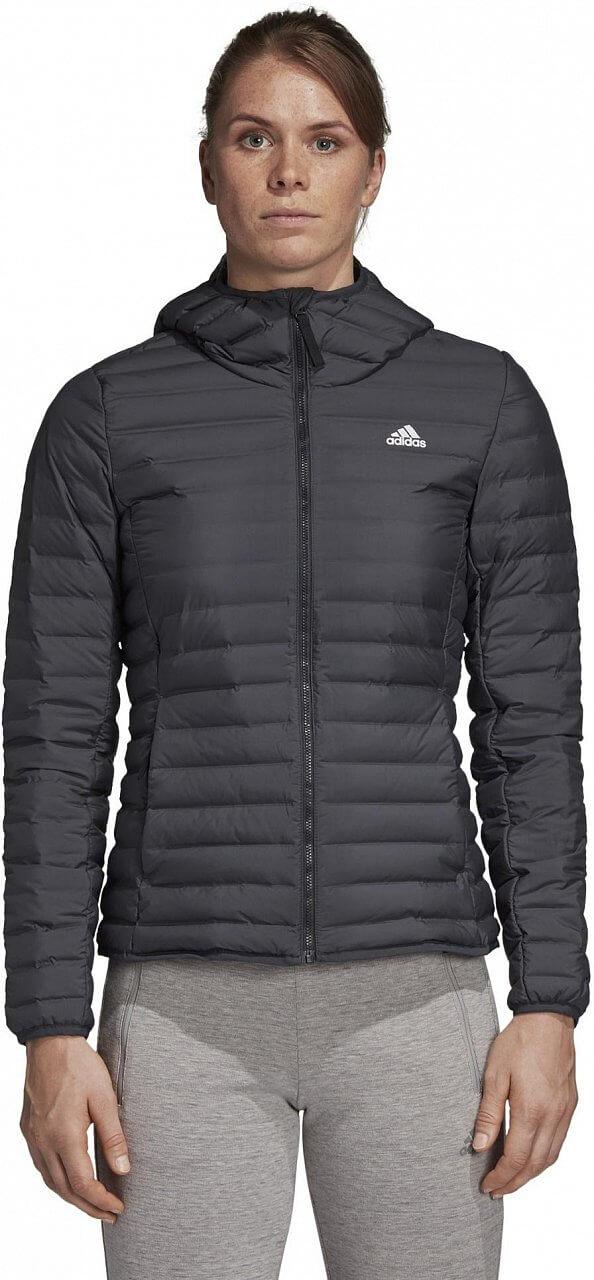 Dámská sportovní bunda adidas W Varilite Soft Hooded