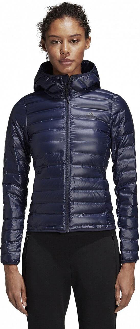 Dámská sportovní bunda adidas Women Varilite Down Hooded Jacket