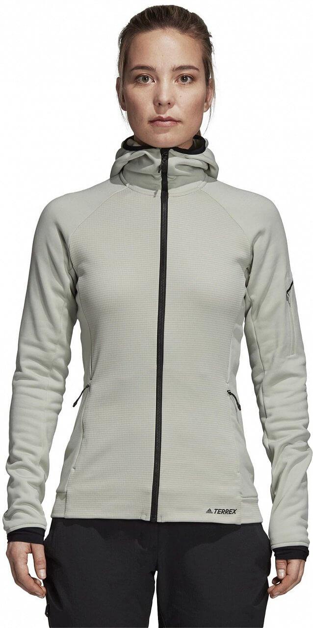 Dámská sportovní mikina adidas Stockhorn Hooded Fleece Jacket